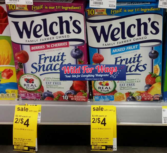 welch's snacks deal