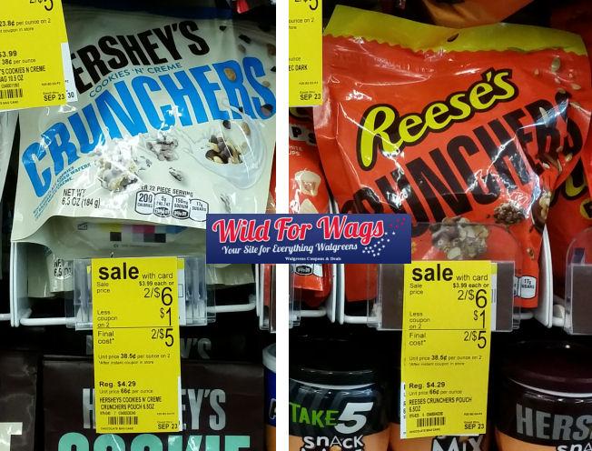 hershey's crunchers deal