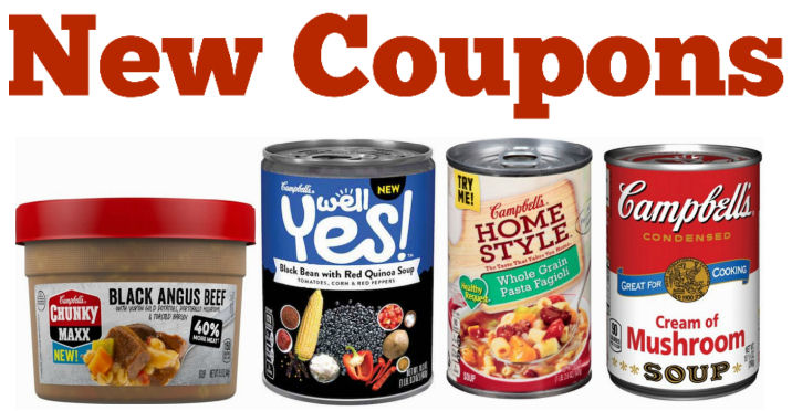 new campbell's soups coupons