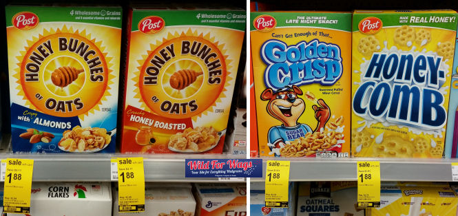 post honey bunches of oats and honey comb deal
