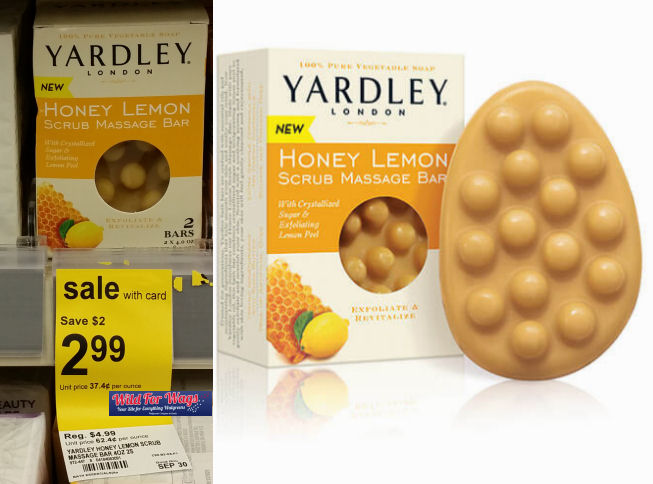 yardley massage bars