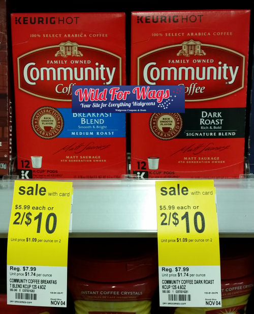 Community coffee deal