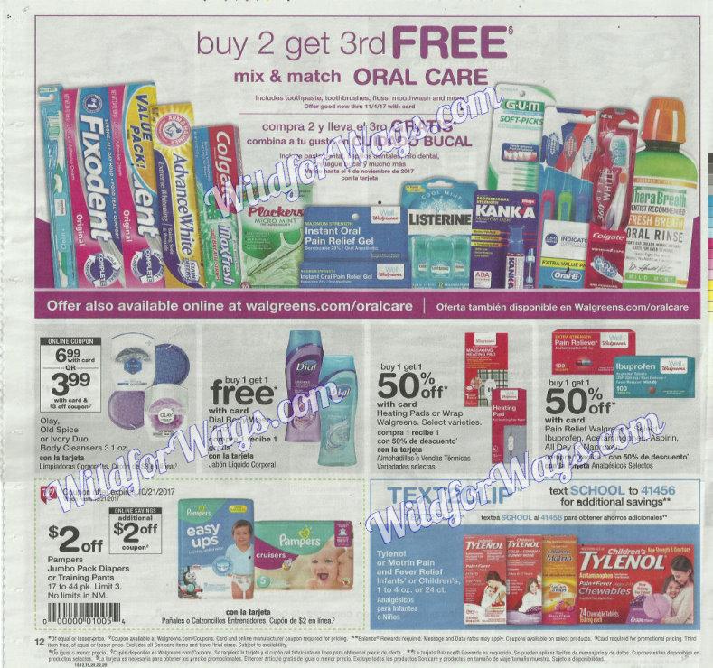 Walgreens Ad Scan 10-16 pg12q