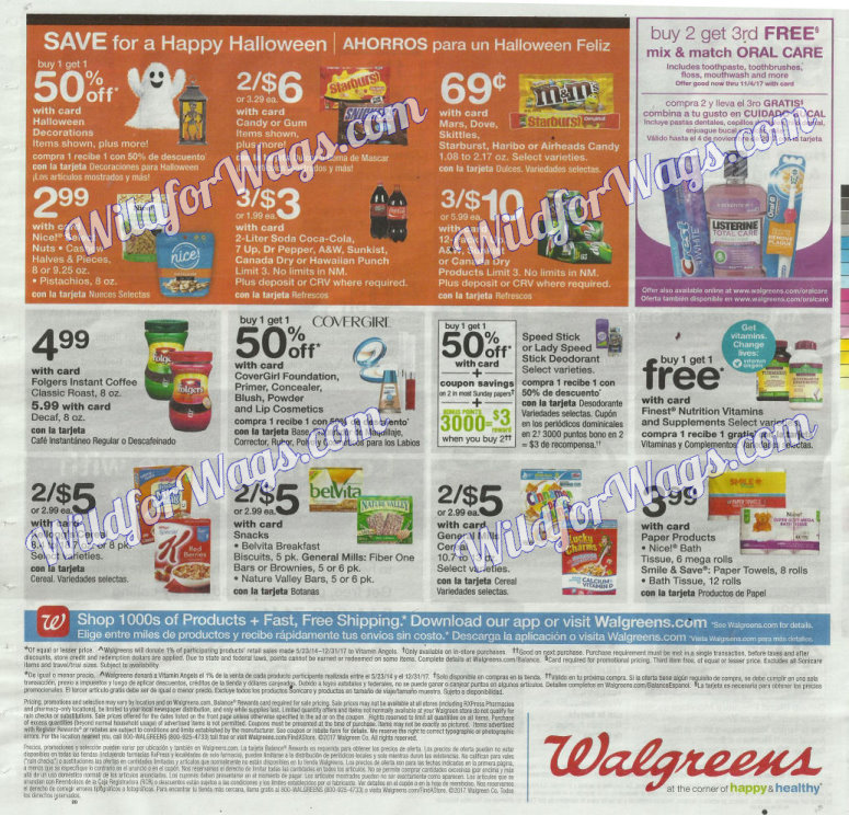Walgreens Ad Scan 10-16 pg16y