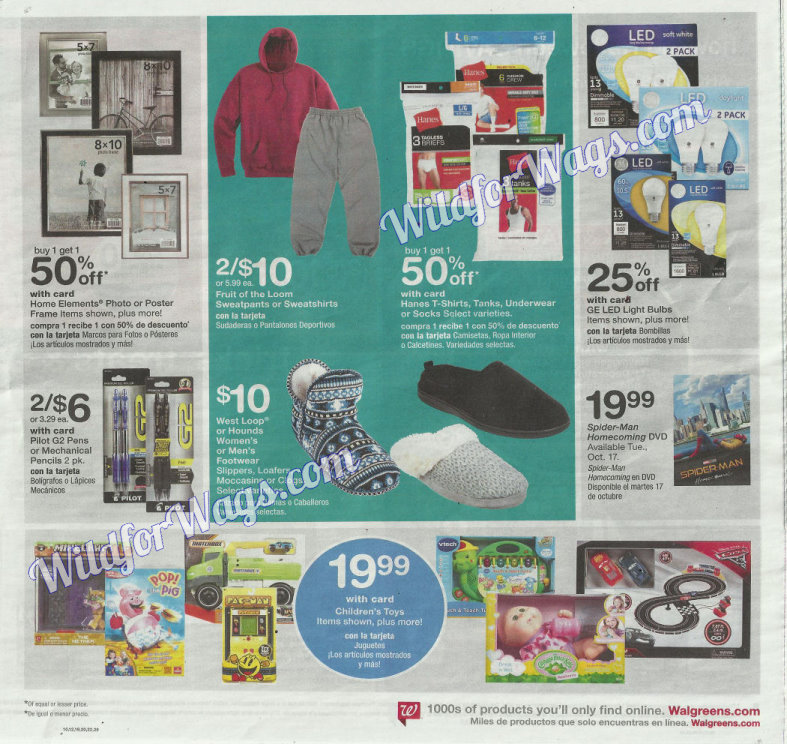 Walgreens Ad Scan 10-16 pg7u