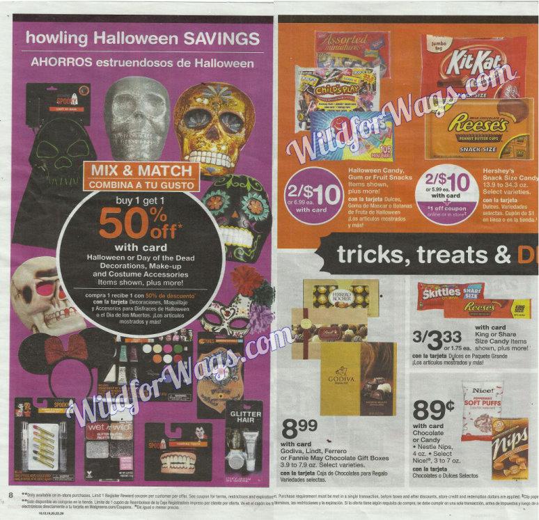 Walgreens Ad Scan 10-16 pg8i