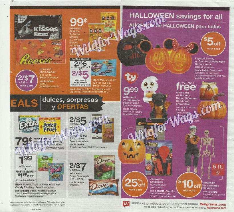 Walgreens Ad Scan 10-16 pg9o