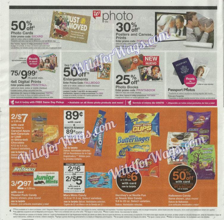 Walgreens Ad Scan 10-8 pg4g