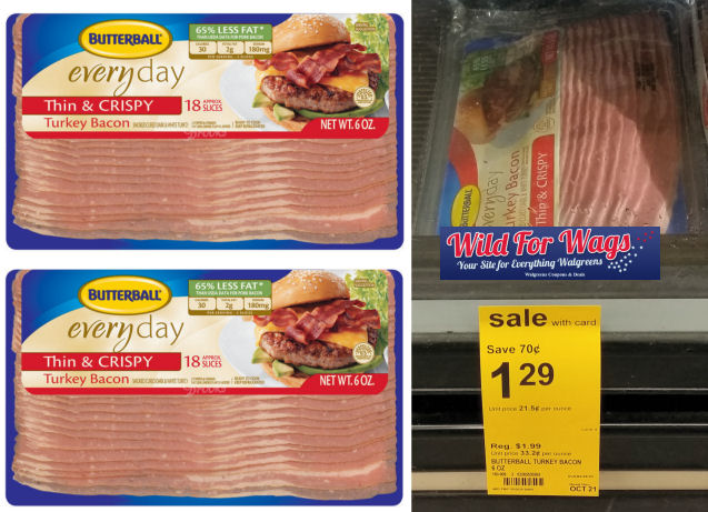 butterball turkey bacon deal