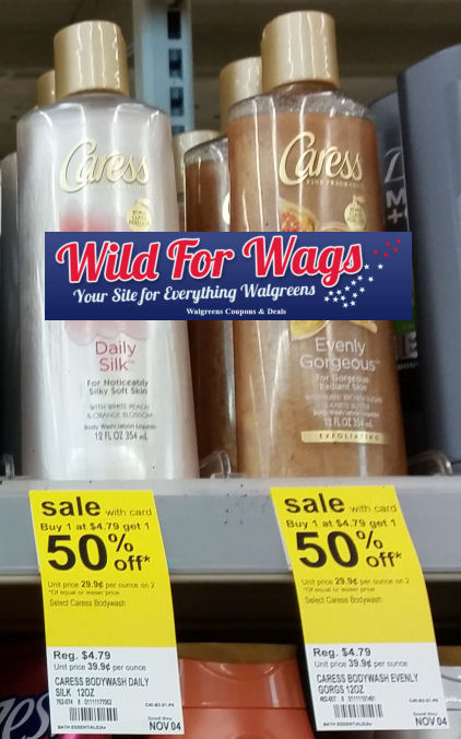 caress body wash deals