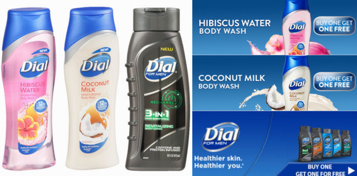 dial body wash coupon