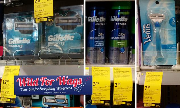 gillette cartridge deals