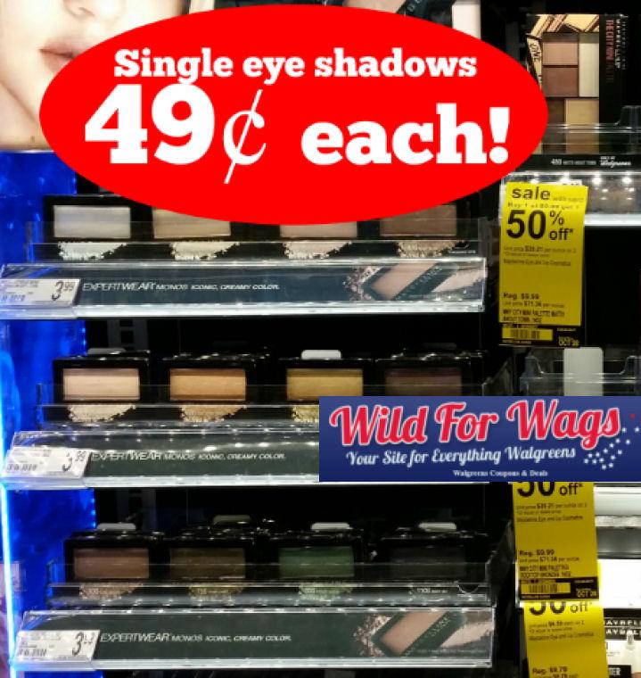 maybelline eye shadows