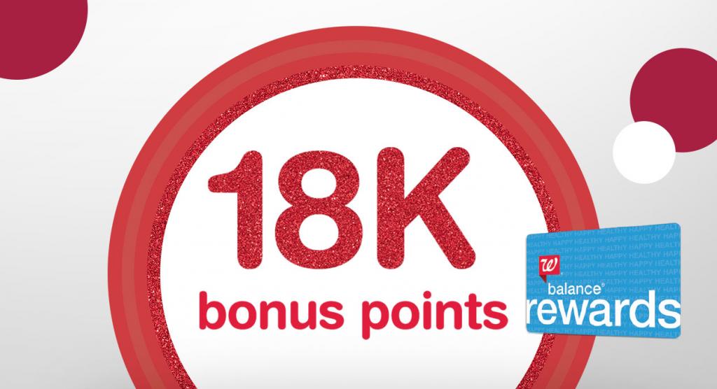 Walgreens Bonus Points