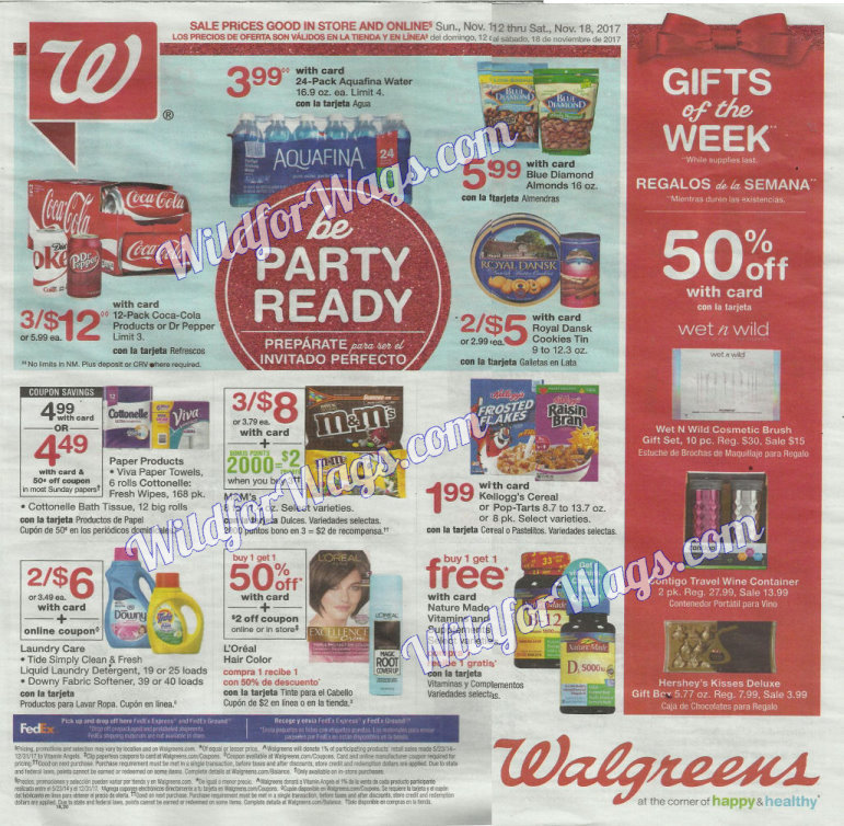 Walgreens Ad Scan 11-12 pg1x
