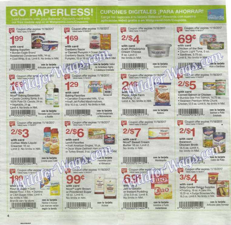 Walgreens Ad Scan 11-12 pg4s