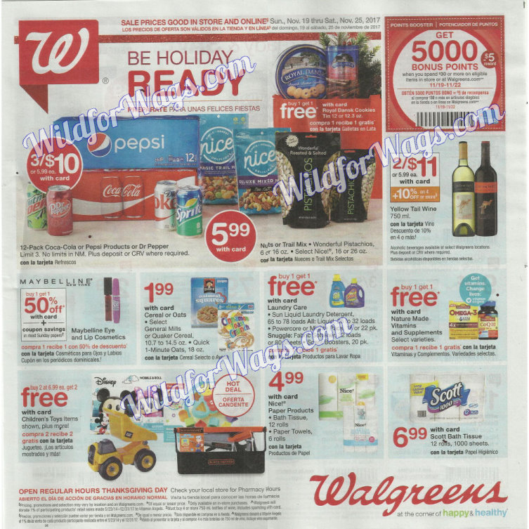 Walgreens Ad Scan 11-19 pg1x