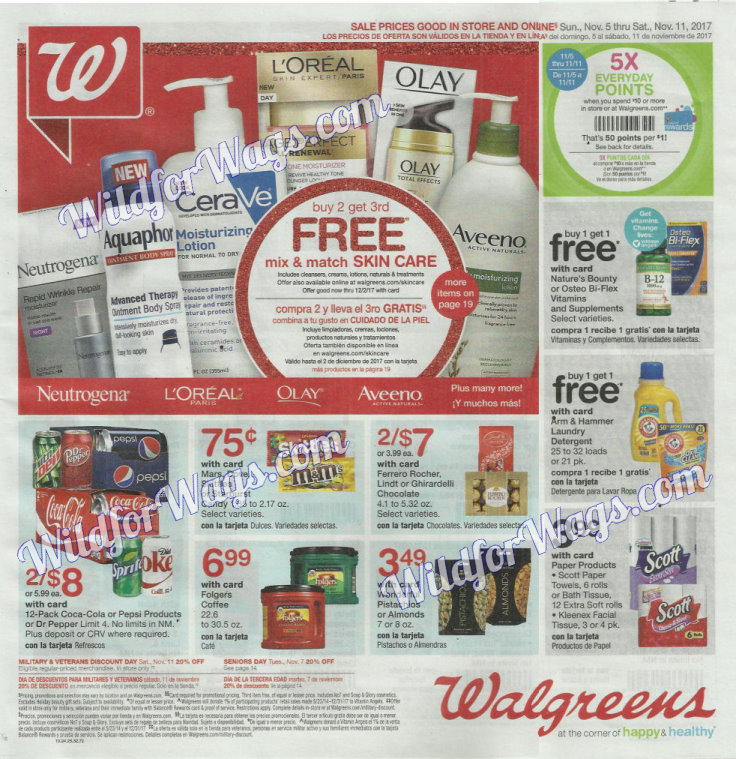 Walgreens Ad Scan 11-5-17 pg1j