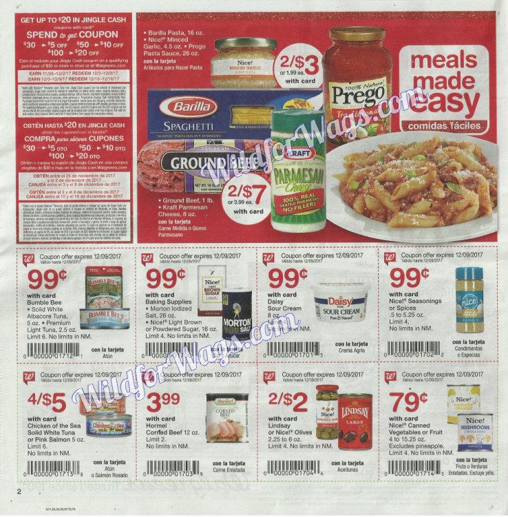 Walgreens Ad Scan 12-3 pg2e