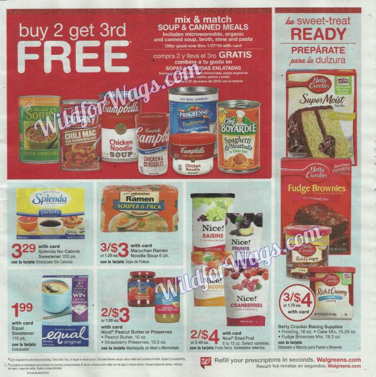 Walgreens Ad Scan 12-3 pg3w