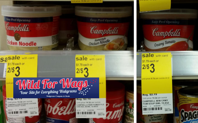 campbell's microwaveable soups deal