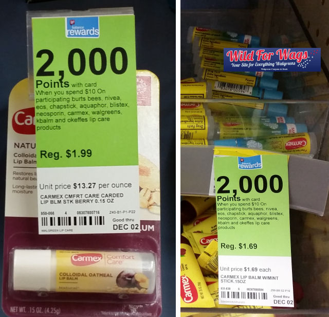 carmex lip balm deals
