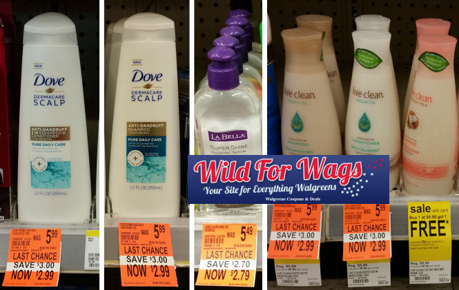 hair care clearance deals