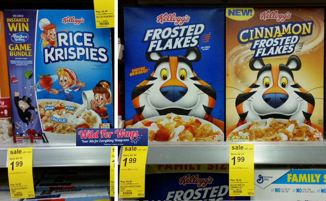 kellogg's cereal deals