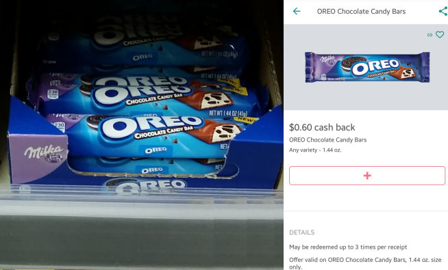 oreo milka bars deal