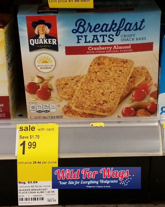 quaker breakfast flats deal