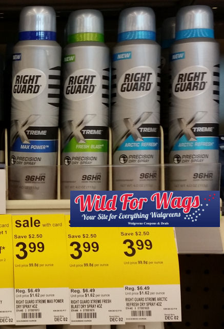 Right Guard Xtreme Antiperspirant Deodorants When we make the Right Guard brand, we don't fool around, at least around the beakers and flammables.