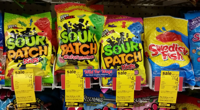 Sour patch swedish fish 99 each for Sour swedish fish
