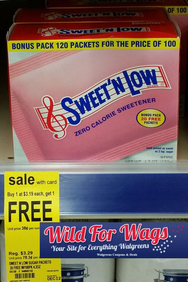 sweet 'n low deal