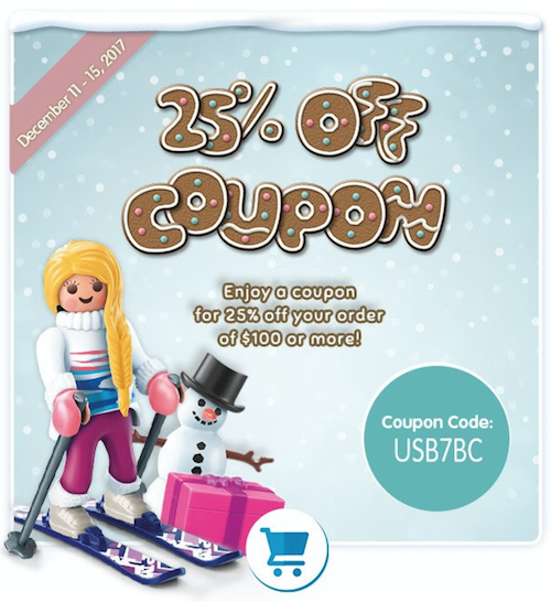 Playmobil coupon