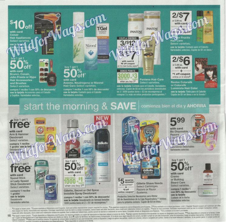 Walgreens Ad Scan 12-10 pg16y