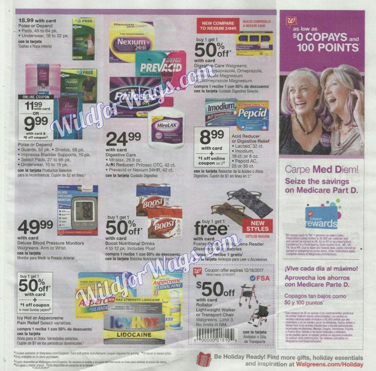 Walgreens Ad Scan 12-10 pg19l