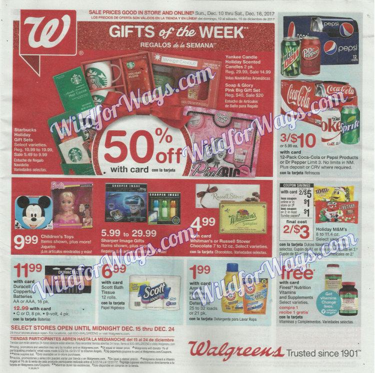 Walgreens Ad Scan 12-10 pg1w