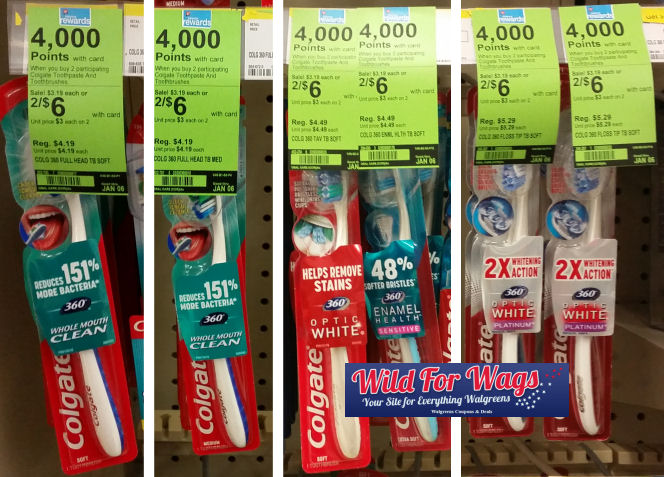 colgate toothbrushes deals