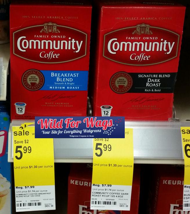community coffee deal