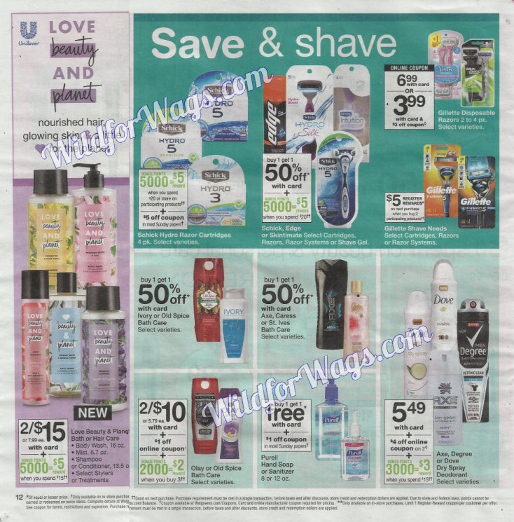 Walgreens Ad Scan 1-14 pg12q