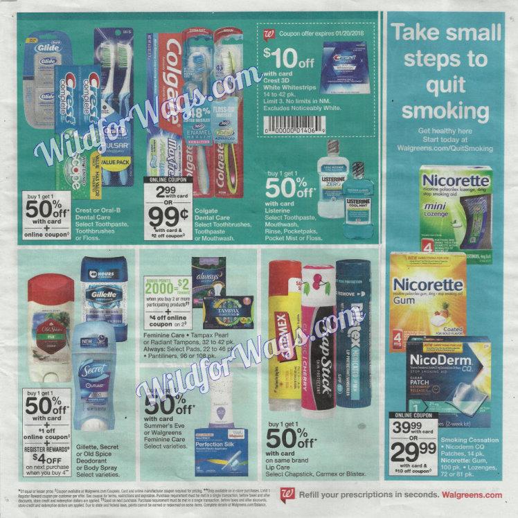 Walgreens Ad Scan 1-14 pg13e