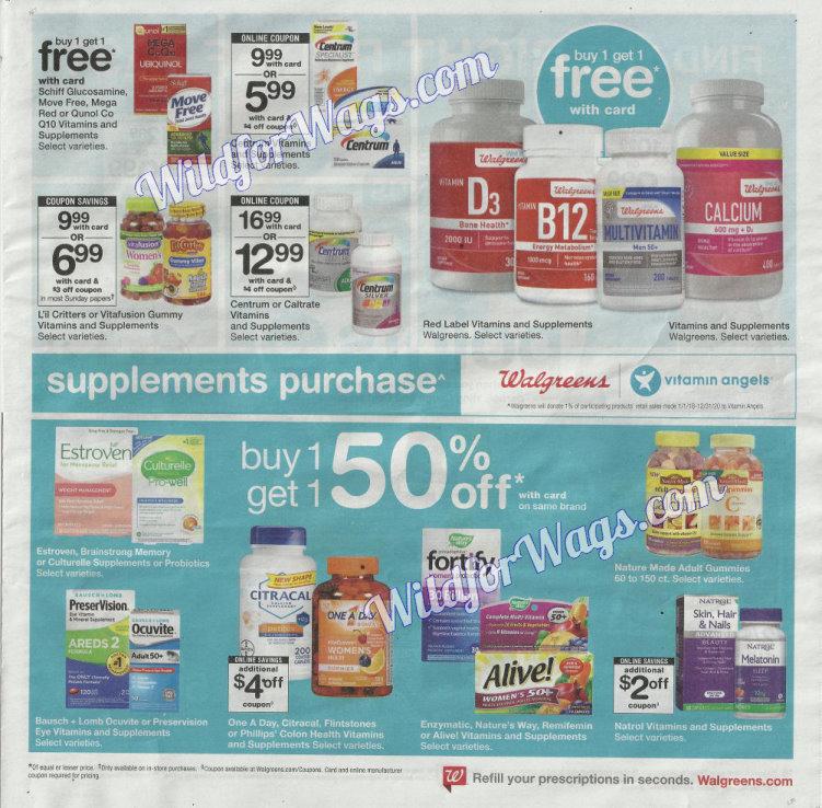 Walgreens Ad Scan 1-14 pg15t