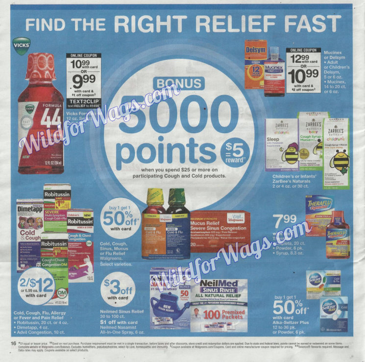 Walgreens Ad Scan 1-14 pg16y