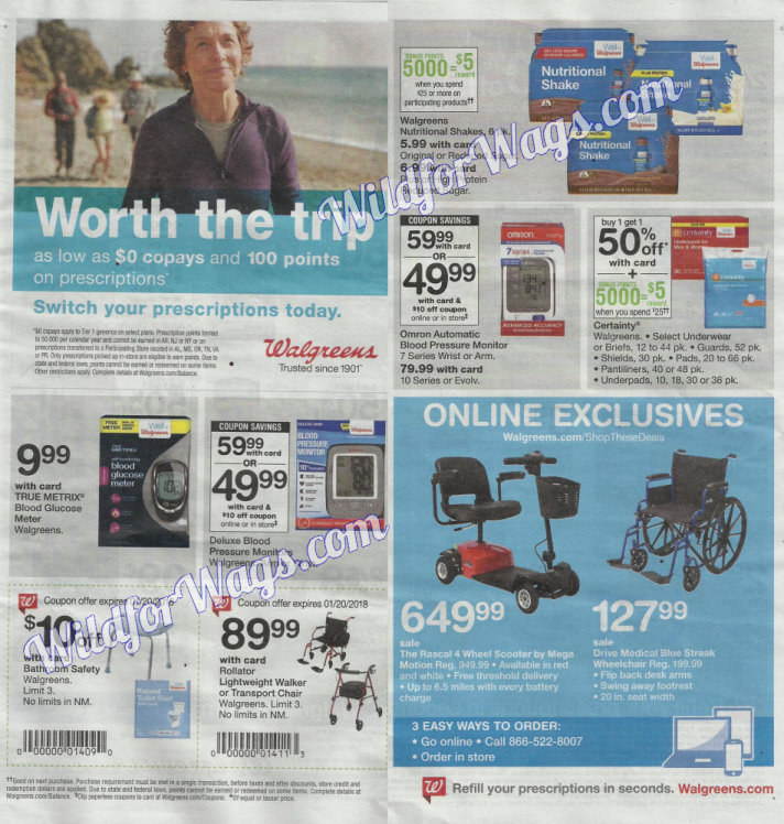 Walgreens Ad Scan 1-14 pg19p