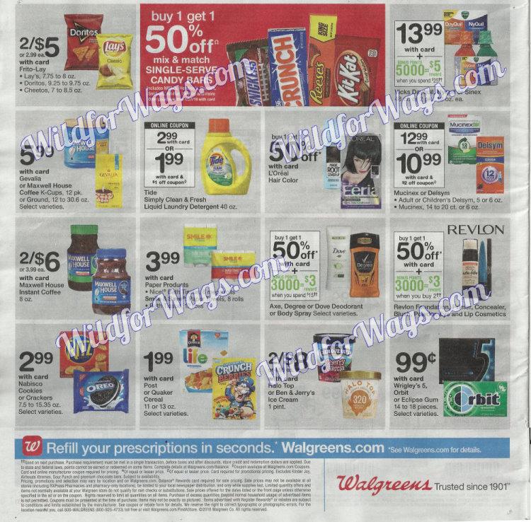 Walgreens Ad Scan 1-14 pg20b