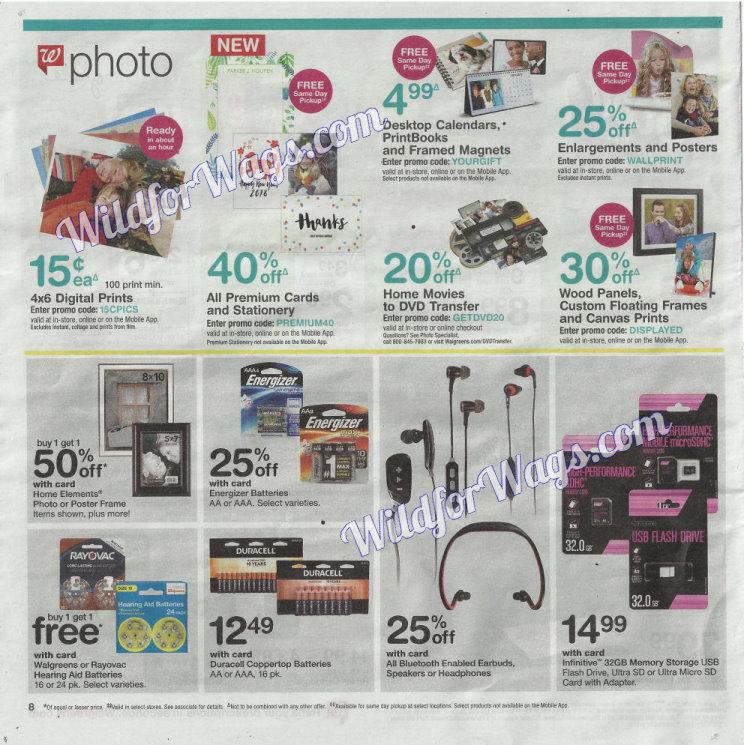 Walgreens Ad Scan 1-14 pg8j