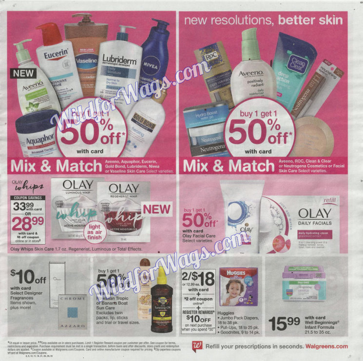 Walgreens Ad Scan 1-14 pg9k