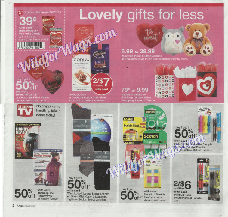 Walgreens Ad Scan 1-21 pg2s