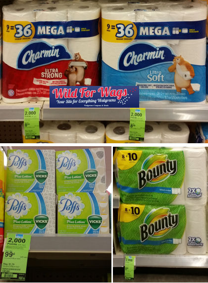 charmin bounty puffs deals