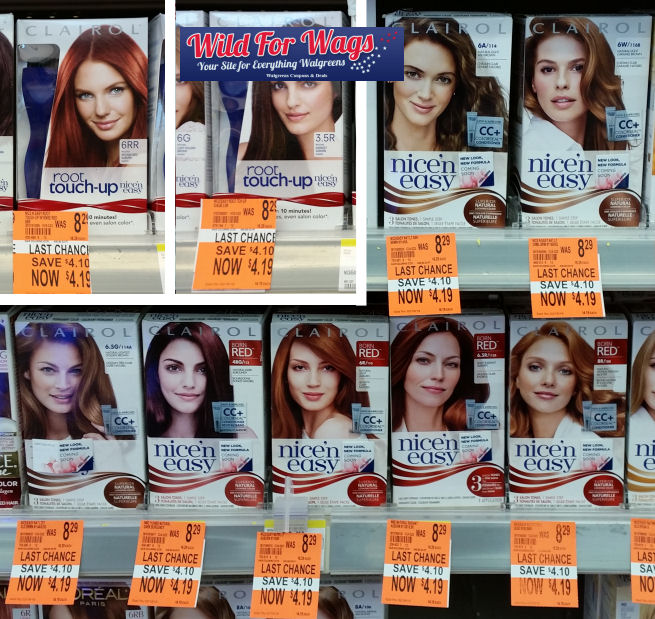 clairol clearance deals